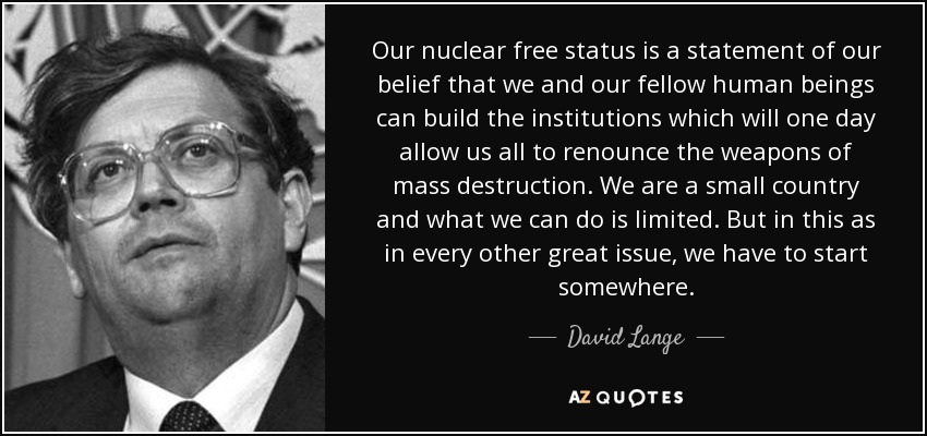TOP 17 QUOTES BY DAVID LANGE | A-Z Quotes