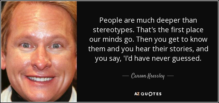 carson kressley sayings