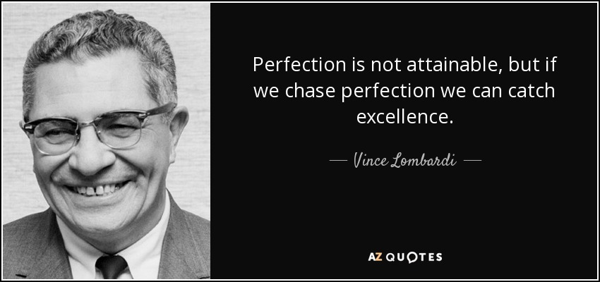 TOP 11 PROGRESS NOT PERFECTION QUOTES | A-Z Quotes