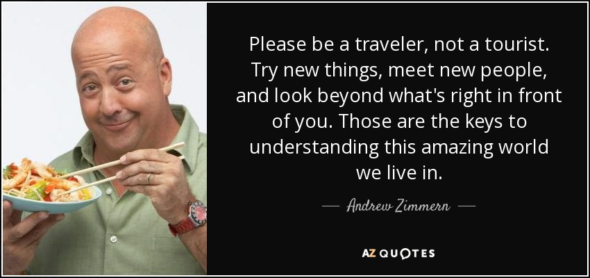 TOP 24 QUOTES BY ANDREW ZIMMERN