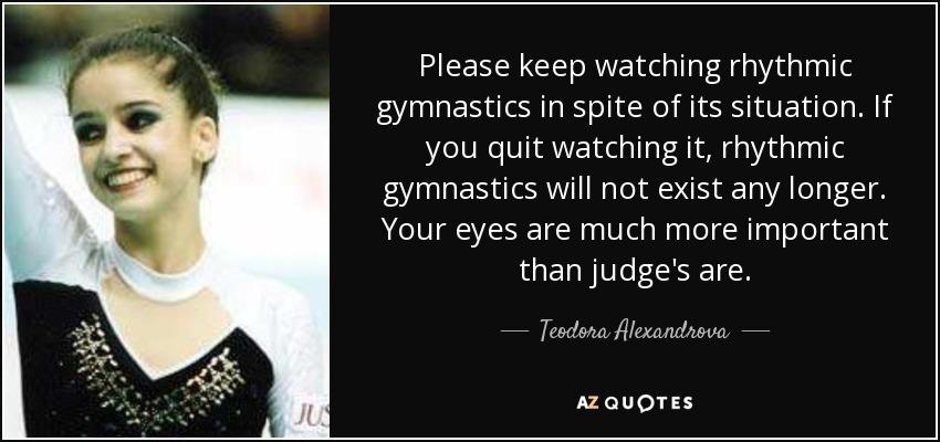Rhythmic Gymnastics Quotes | www.pixshark.com - Images ...
