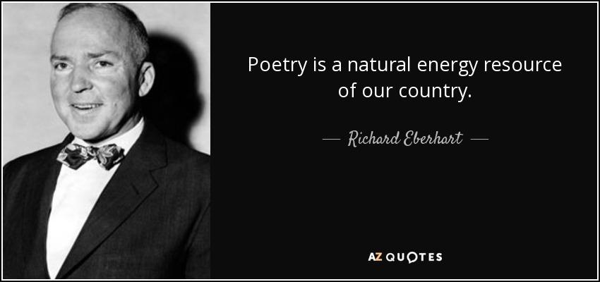 Richard Eberhart poet