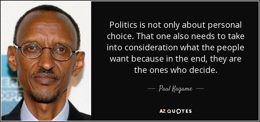 What are personal politics?