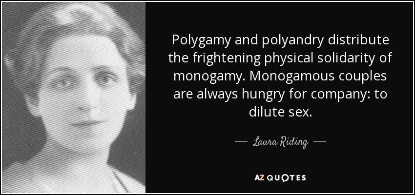 monogamy or polygamy
