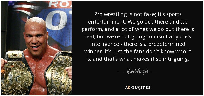 professional wrestling fake or real essay Professional wrestling is not fake professional wrestling is a spectacle while the matches are scripted and pre-determined, there is no denying that those who apply their craft inside of the squared-circle are true athletes, artists, and entertainers.