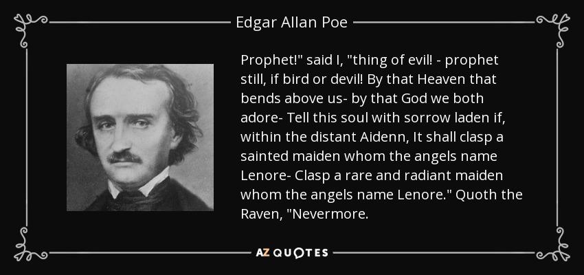 Prophet!