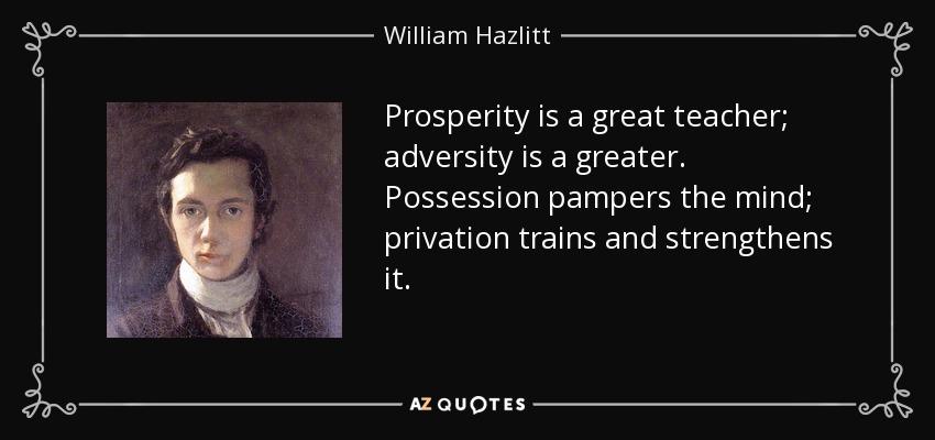 Hazlitt essay poetry in general the greater