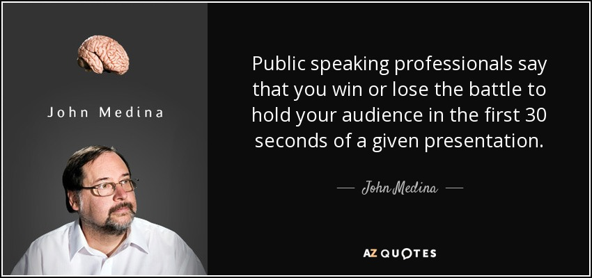 Quotes About Public Speaking Glamorous John Medina Quote Public Speaking Professionals Say That You Win