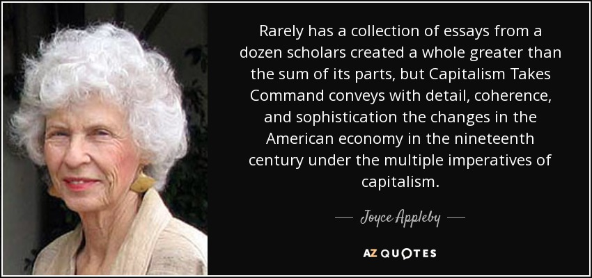 Rarely has a collection of essays from a dozen scholars created a whole greater than the sum of its parts, but Capitalism Takes Command conveys with detail, coherence, and sophistication the changes in the American economy in the nineteenth century under the multiple imperatives of capitalism. - Joyce Appleby