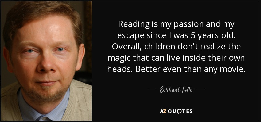 Image result for eckhart tolle quotes on reading