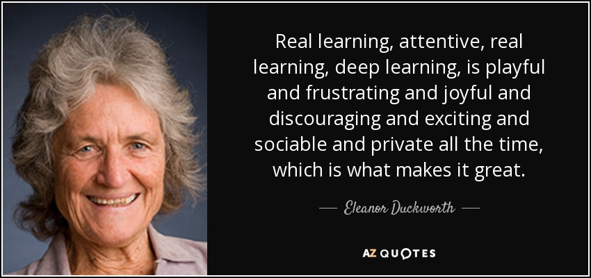 Image result for eleanor duckworth