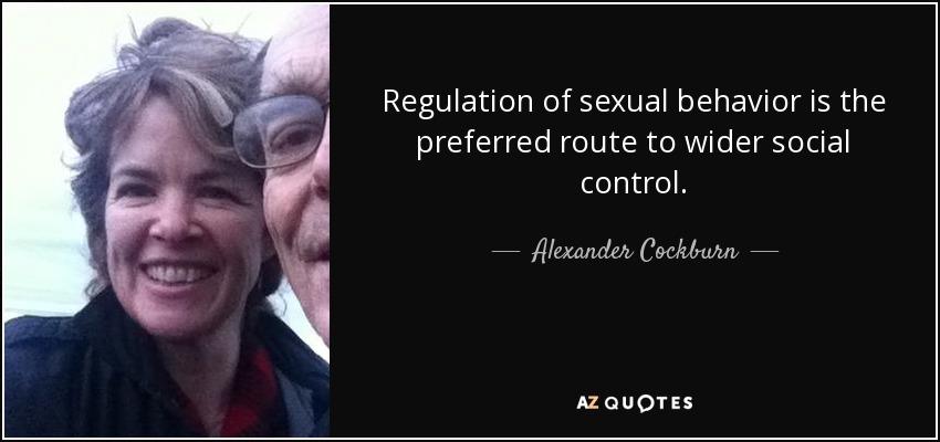 behavior sexual regulation of