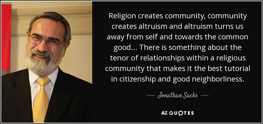 Top 25 Religious Community Quotes A Z Quotes