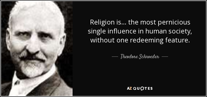 a discussion on the influence of religion on the solidarity in society Does religion make people moral of religion found in every human society for the purposes of the discussion here.