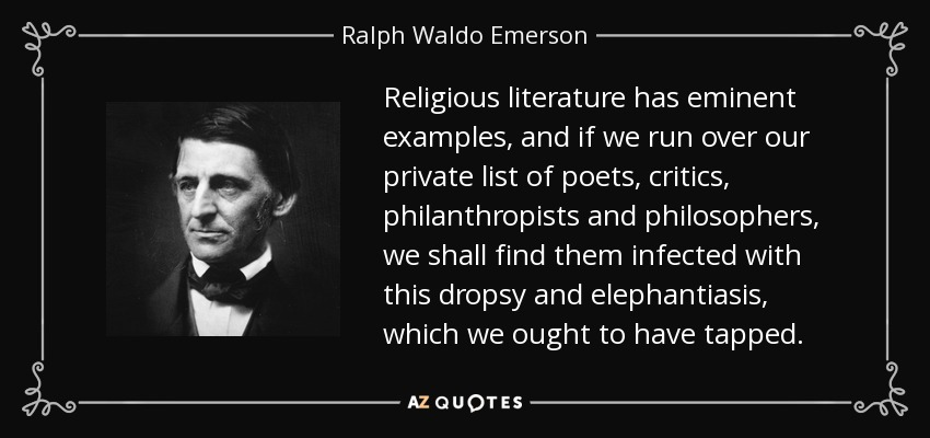 analyzing transcendentalism on the example of self reliance an essay by ralph waldo emerson Nature ralph walden emerson and henry david nature is an essay written by ralph waldo emerson and published in transcendentalism is about self-reliance.
