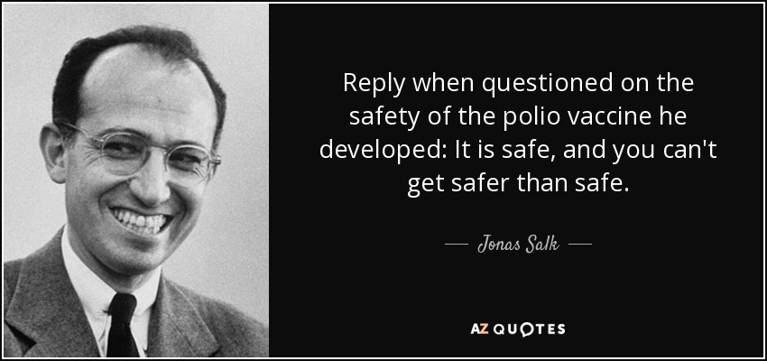 john salk finally develops vaccine for polio Poliomyelitis, often called polio or infantile paralysis,  paralysis generally develops one to ten days after early symptoms begin,  the salk vaccine:.