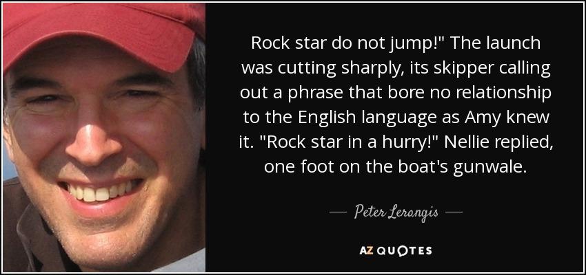 Rock star do not jump!