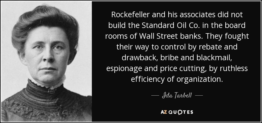what did ida tarbell write about