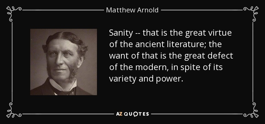 function of criticism nature matthew arnold