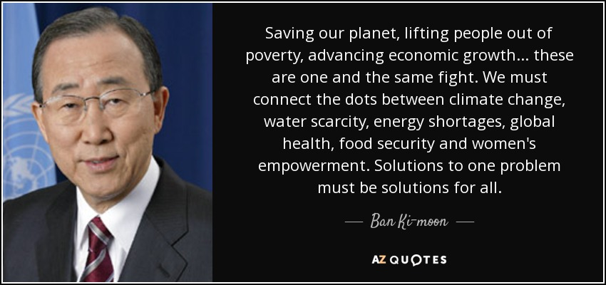 Top 25 Quotes By Ban Ki Moon Of 100 A Z Quotes
