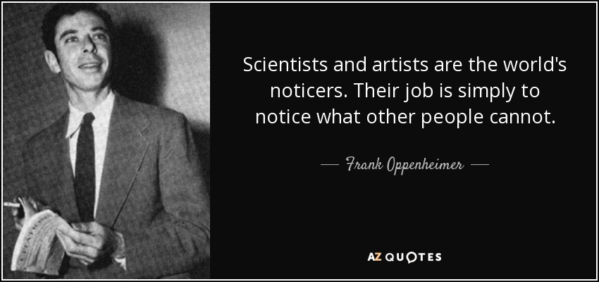 Oppenheimer Quote Prepossessing Top 6 Quotesfrank Oppenheimer  Az Quotes