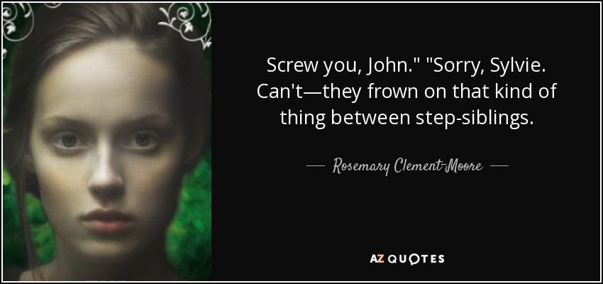 Screw you, John.