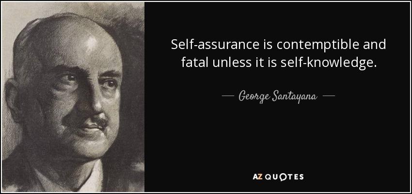self-assurance