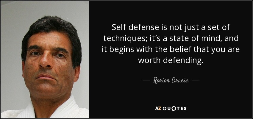 Top 25 Self Defense Quotes Of 220 A Z Quotes