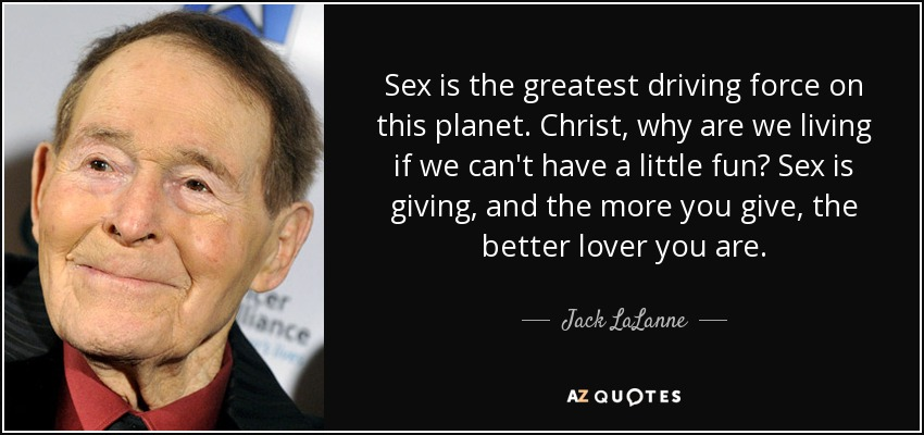 The greatest sex