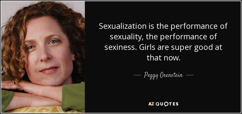 Quotes about sexualization