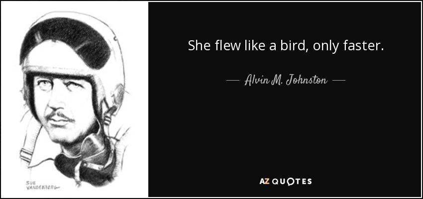 QUOTES BY ALVIN M. JOHNSTON