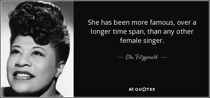 She Has Been More Famous Over A Longer Time Span Than Any Other Female