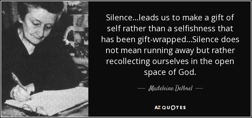 QUOTES BY MADELEINE DELBREL