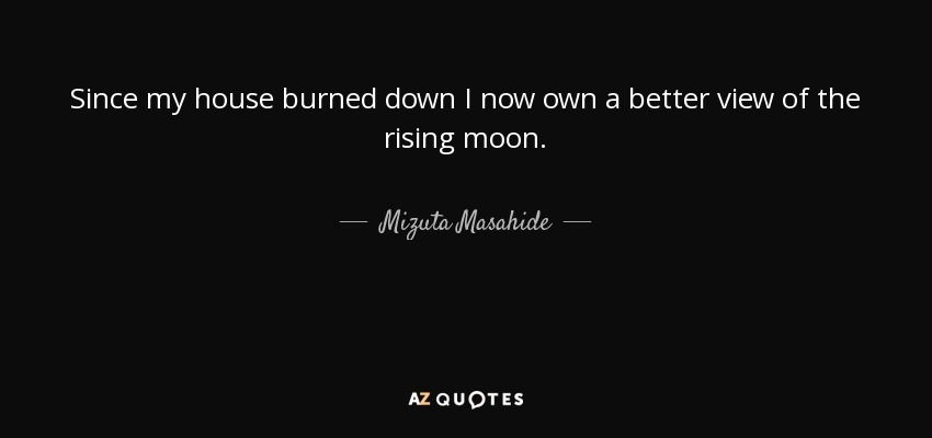 QUOTES BY MIZUTA MASAHIDE