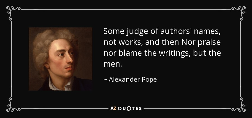 an essay on man alexander pope tone
