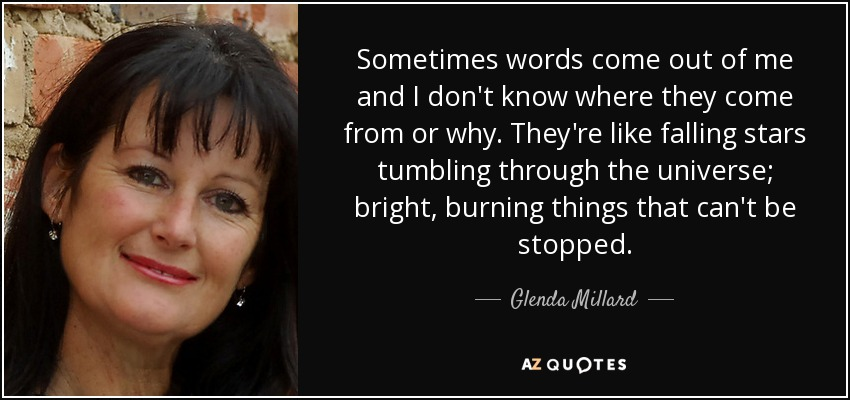 Glenda Millard TOP 11 QUOTES BY GLENDA MILLARD AZ Quotes