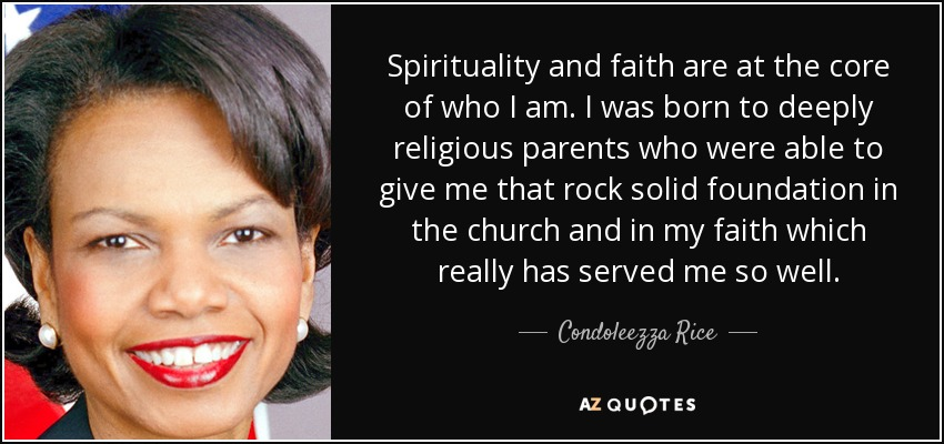 Image result for the faith of condoleezza rice