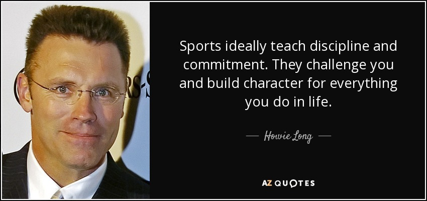 sports builds character All heart builds high character,  all heart athletics program is designed to introduce young athletes to the basics of the sport of their choice all sports are.