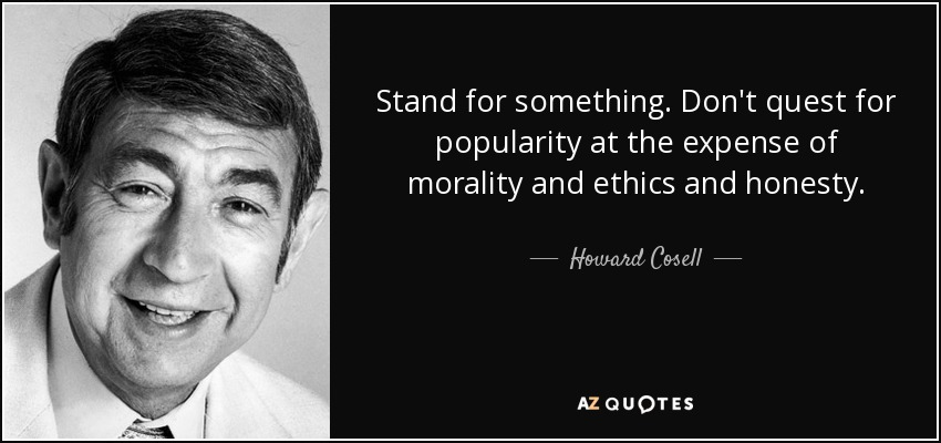 Top 25 Stand For Something Quotes Of 65 A Z Quotes