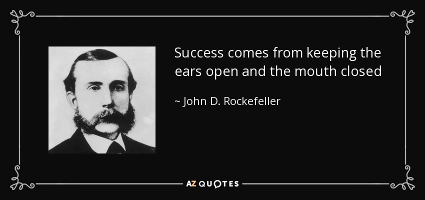 Top 25 Quotes By John D Rockefeller Of 119 A Z Quotes