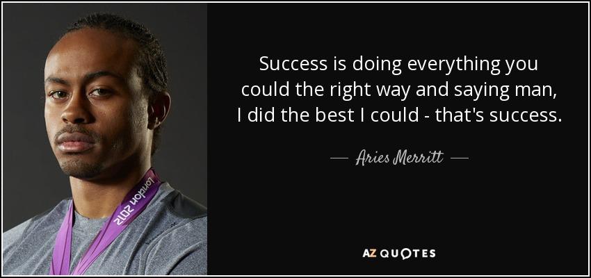 Aries Merritt Quotes