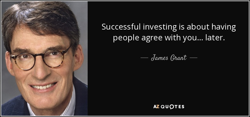TOP 21 QUOTES BY JAMES GRANT