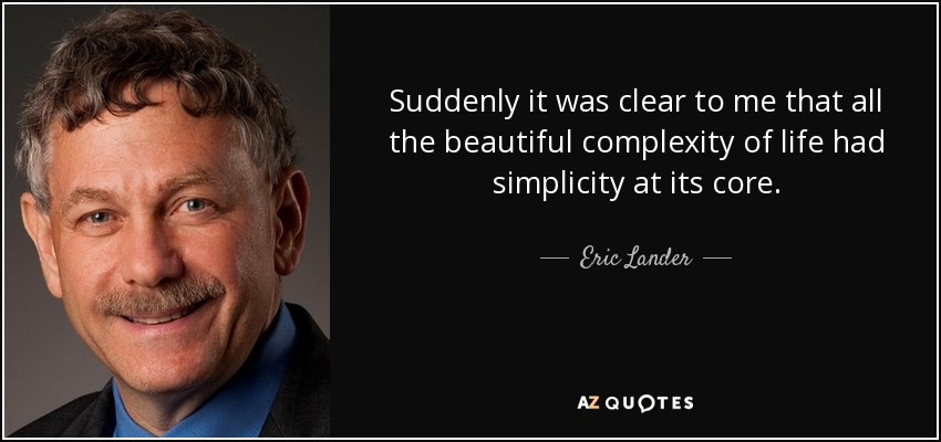 Eric Lander Quote Suddenly It Was Clear To Me That All The Beautiful