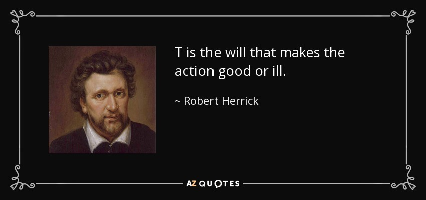 Robert Herrick il government