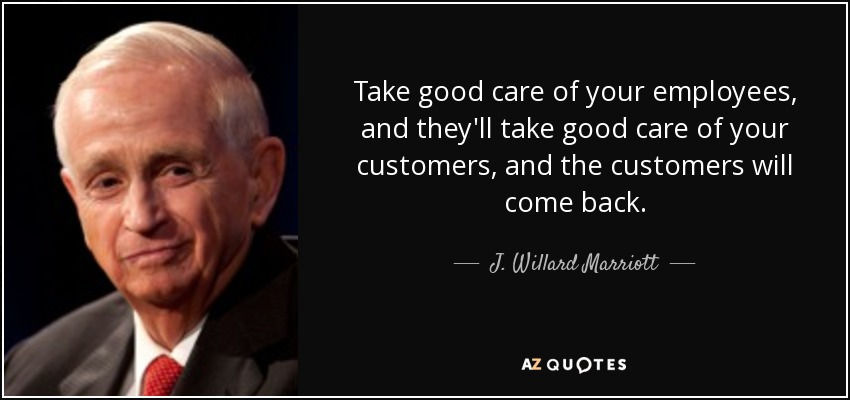 customer and employee relationship quotes