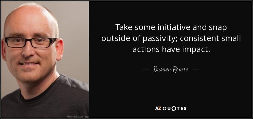 i have initiative