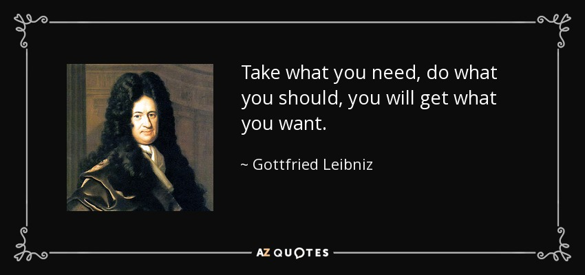 TOP 25 QUOTES BY GOTTFRIED LEIBNIZ (of 119) | A-Z Quotes
