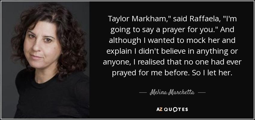 Taylor Markham,