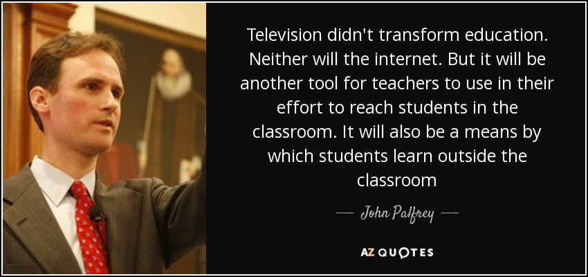 uses of television in education