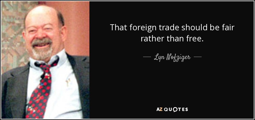 Top 14 Foreign Trade Quotes